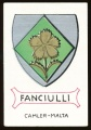 arms of the Fanciulli family