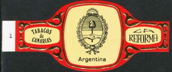 Arms of National Arms of Argentina