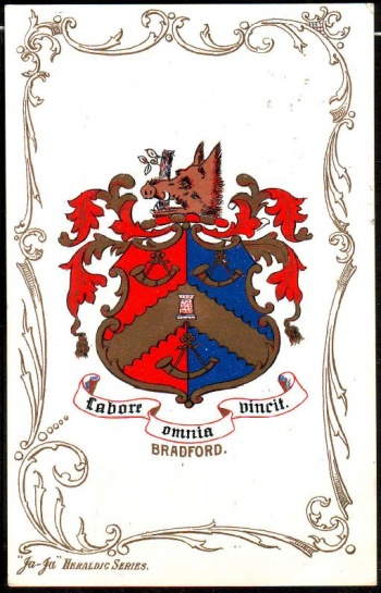 Arms (crest) of Bradford