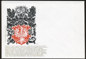 Arms of Radvilos family