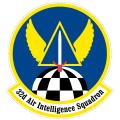 32nd Air Intelligence Squadron, US Air Force.png