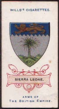 Arms of The National Arms of Sierra Leone