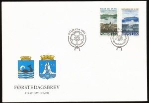 Arms of Norway (stamps)