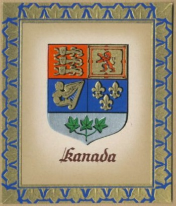 National Arms of Canada - Coat of arms (crest) of National
