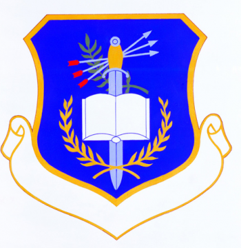 Coat of arms (crest) of the 3290th Technical Training Group, US Air Force