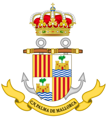 Coat of arms (crest) of the Naval Command of Palma de Mallorca, Spanish Navy