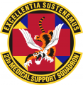 23rd Medical Support Squadron, US Air Force.png