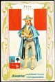 Arms, Flags and Folk Costume trade card Diamantine Peru