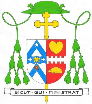 Arms of Vincent Madeley Harris