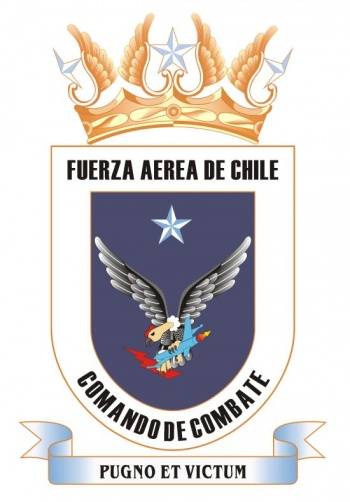 Coat of arms (crest) of the Combat Command of the Air Force of Chile