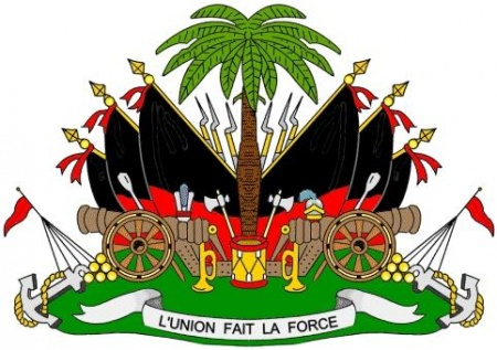 The National Arms Of Haiti Heraldry Of The World