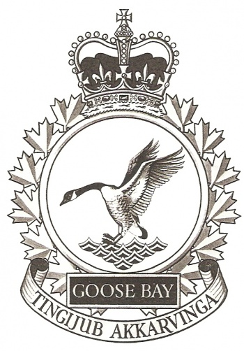 Coat of arms (crest) of the Canadian Forces Station Goose Bay, Canada