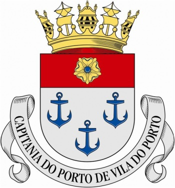 Coat of arms (crest) of the Harbour Captain of Porto, Portuguese Navy