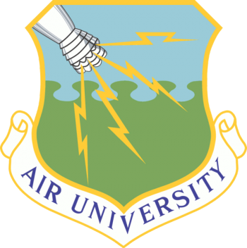 Coat of arms (crest) of the Air University, US Air Force