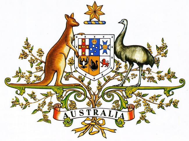 national arms of australia