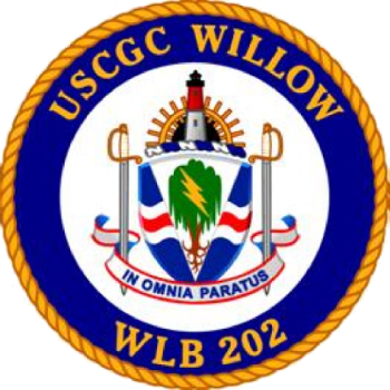 Coat of arms (crest) of the USCGC Willow (WLB-202)