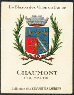 Chaumont haute marne blason armoiries de chaumont for Chaumont haute marne