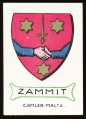 arms of the Zammit family