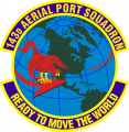 143rd Aerial Port Squadron, US Air Force.png