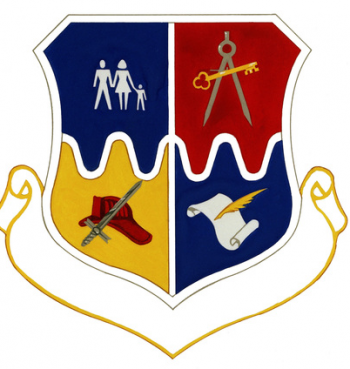 Coat of arms (crest) of the 3415th Air Base Group, US Air Force