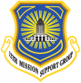 12th Mission Support Group, US Air Force.png