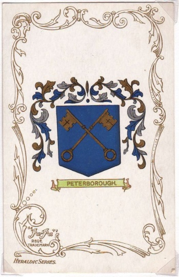 Arms of Peterborough (England)