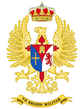 Coat of arms (crest) of the VII Military Region, Spanish Army