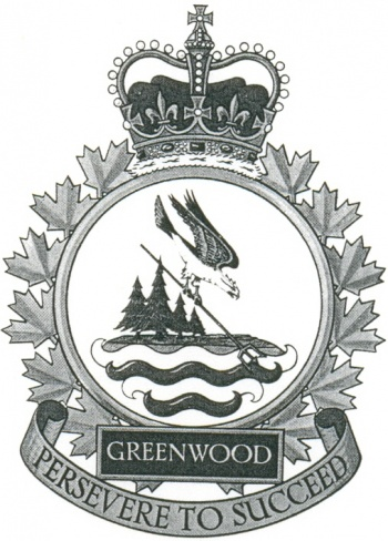 Coat of arms (crest) of the Canadian Forces Base Greenwood, Canada