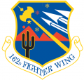 162nd Fighter Wing, Arizona Air National Guard.png