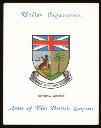 Arms of Wills's - Arms of the British Empire (large)