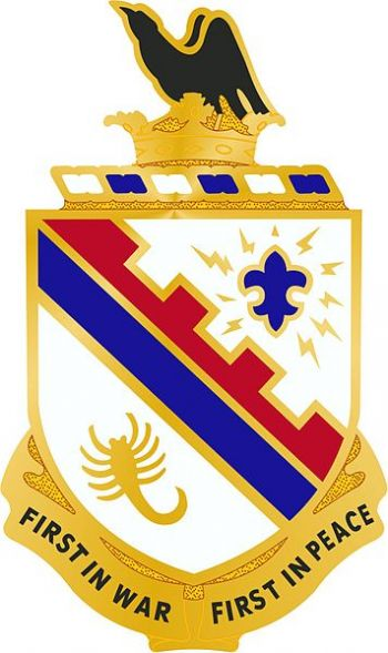 Arms of 161st Infantry Regiment, Washington Army National Guard