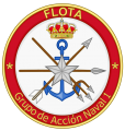 1st Naval Action Group, Spanish Navy.png