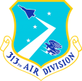313th Air Division, US Air Force.png
