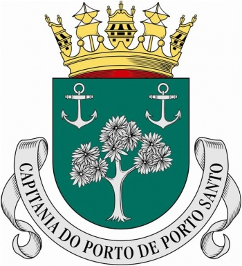 Coat of arms (crest) of the Harbour Captain of Porto Santo, Portuguese Navy