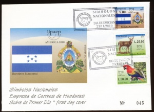 Arms (crest) of Honduras (stamps)