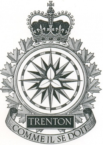 Coat of arms (crest) of the Canadian Forces Base Trenton, Canada