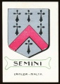 arms of the Semini family