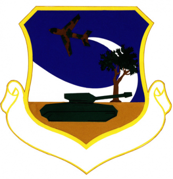 Coat of arms (crest) of the 4443rd Technical Training Group, US Air Force