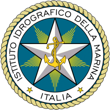 Coat of arms (crest) of the Hydrographic Institute of the Navy, Italian Navy