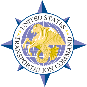 Coat of arms (crest) of the United States Transportation Command, US