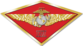 Coat of arms (crest) of the 4th Marine Aircraft Wing, USMC