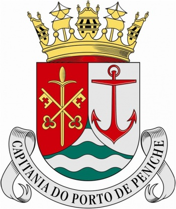 Coat of arms (crest) of the Harbour Captain of Peniche, Portuguese Navy