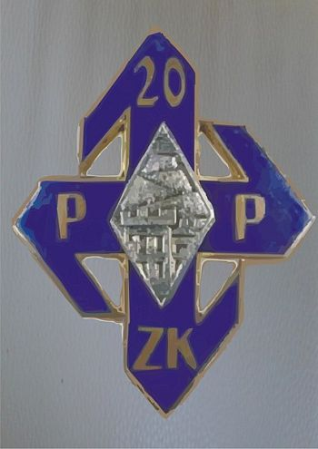 Coat of arms (crest) of the 20th Ziemia Krakowska Infantry Regiment, Polish Army