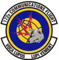 172nd Communications Flight, US Air Force.png