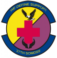 27th Medical Support Squadron, US Air Force.png