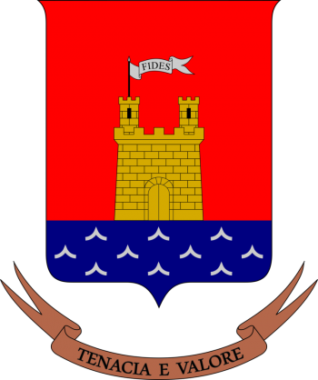 Coat of arms (crest) of the 34th Infantry Regiment Livorno, Italian Army