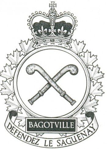 Coat of arms (crest) of the Canadian Forces Base Bagotville, Canada