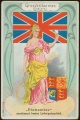 Arms, Flags and Folk Costume trade card Diamantine Gross Britannien