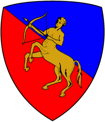 Coat of arms (crest) of the Armoured Brigade Centauro, Italian Army