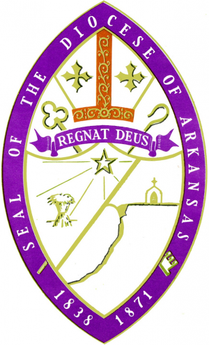 Arms (crest) of Diocese of Arkansas